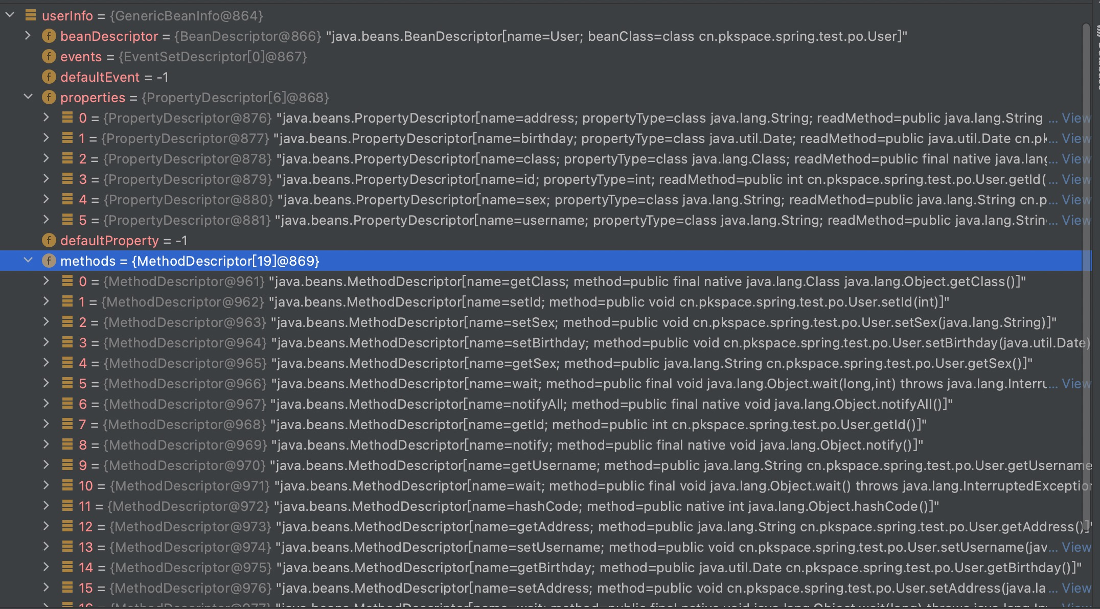 Java内省示例